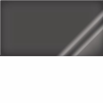 Blanc / Dossier noir transparent