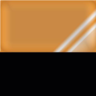 Noir / Dossier ambre transparent