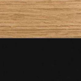 Assise chêne naturel P19W / Structure noire P15