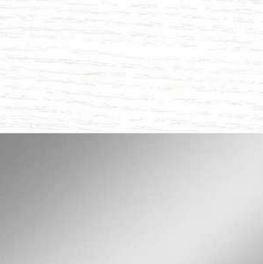 Assise blanche P507 / Structure satinée P95