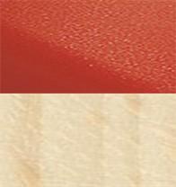 P02 Hêtre blanchi - Rouge