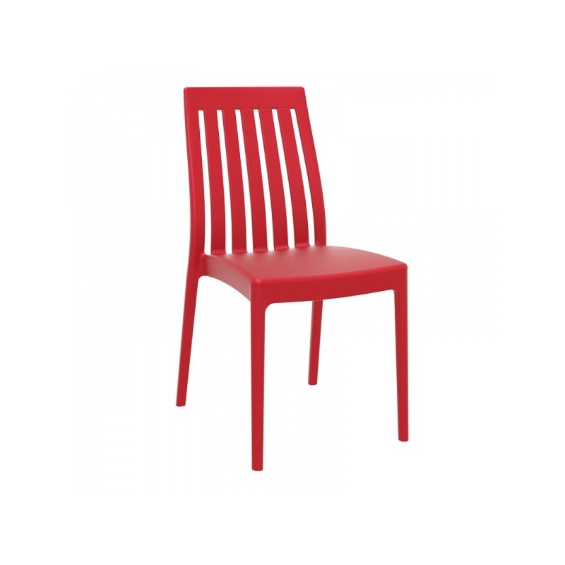 Chaise Soho rouge
