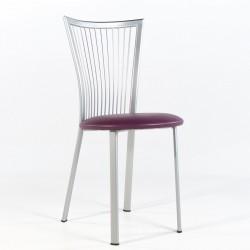 Chaise cuisine structure métal Fanny
