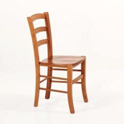 Chaise en bois rustique en assise bois Broceliande