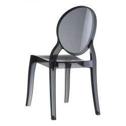 Chaise en plexi transparent Elizabeth