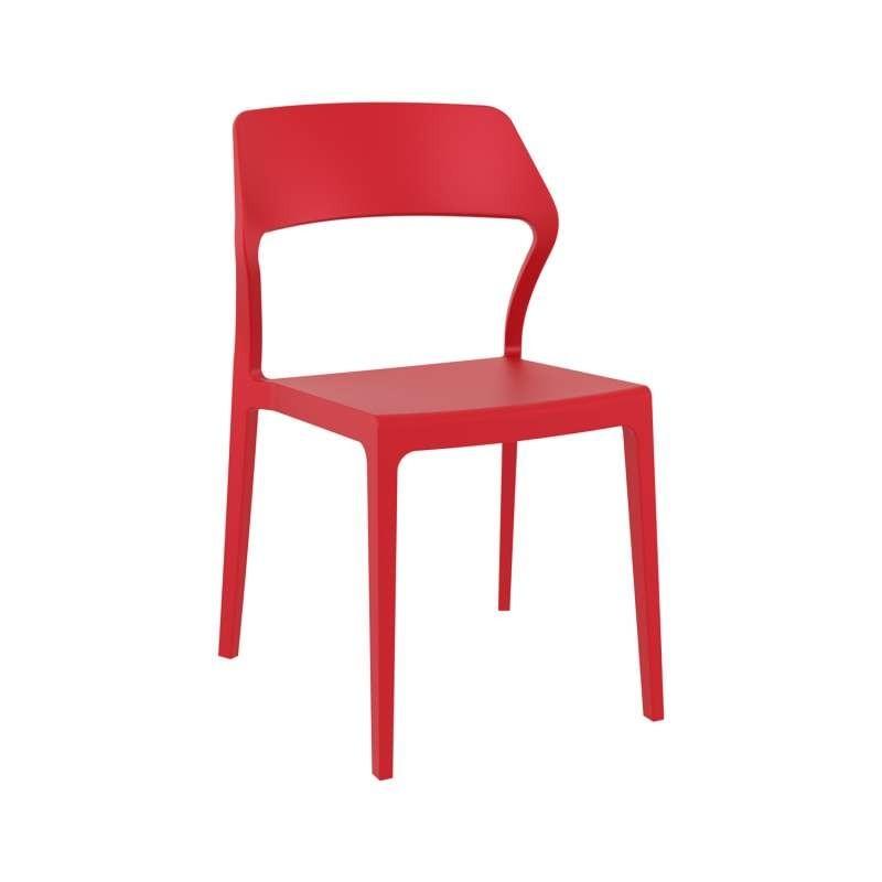 Chaise empilable design en polypropylène - Snow