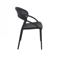 Chaise design empilable en polypropylène - Sunset