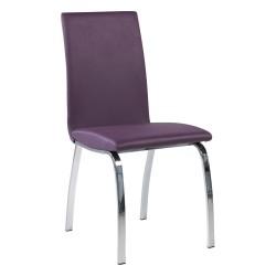 Chaise en métal et synthétique - DARA PREMIUM
