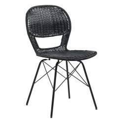 Chaise en fer et polyuréthane - Flores