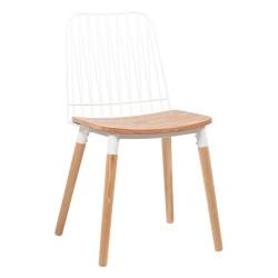 Chaise en bois et métal - Danemark